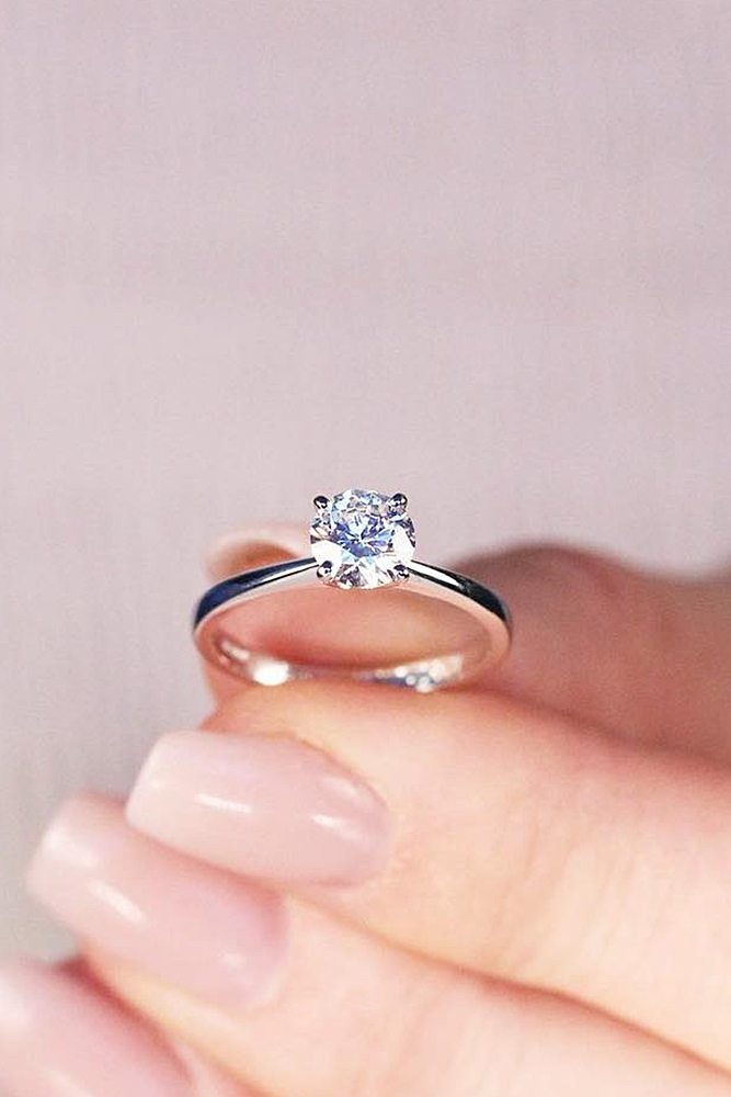 Simple Engagement Rings To Say I Do To My Sweet Engagement