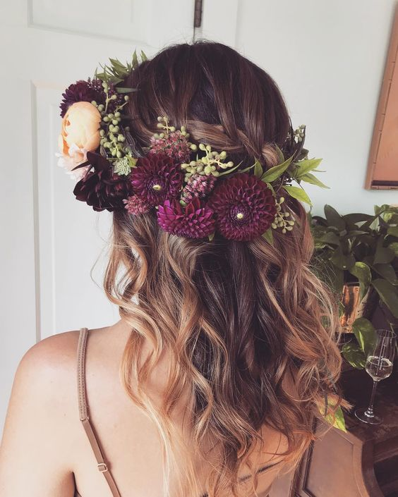 Half Up Wedding Hair Ideas: Half Up Half Down Bridal Hair Ideas To Copy Now