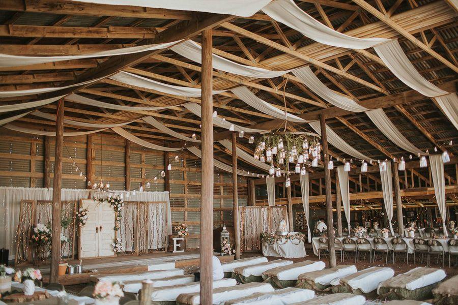 An Indoor Rustic Ceremony: Indoor Wedding Ceremony: 20 Stunning Ideas