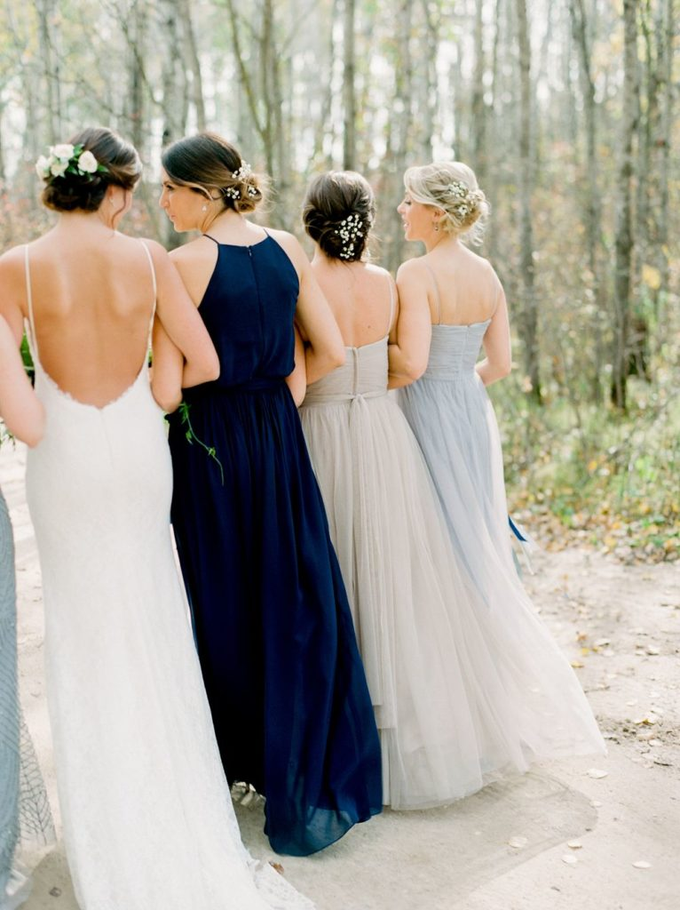 Navy Blue Bridesmaid Dresses You Will Love My Sweet Engagement,How To Dye A Wedding Dress Purple
