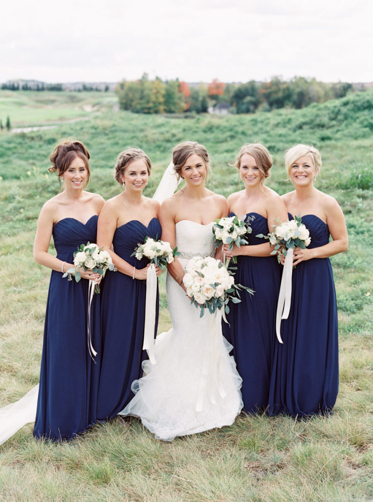 Navy Blue Bridesmaid Dresses You Will