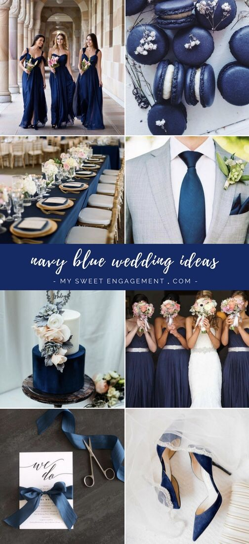Wedding Color Navy Blue My Sweet Engagement
