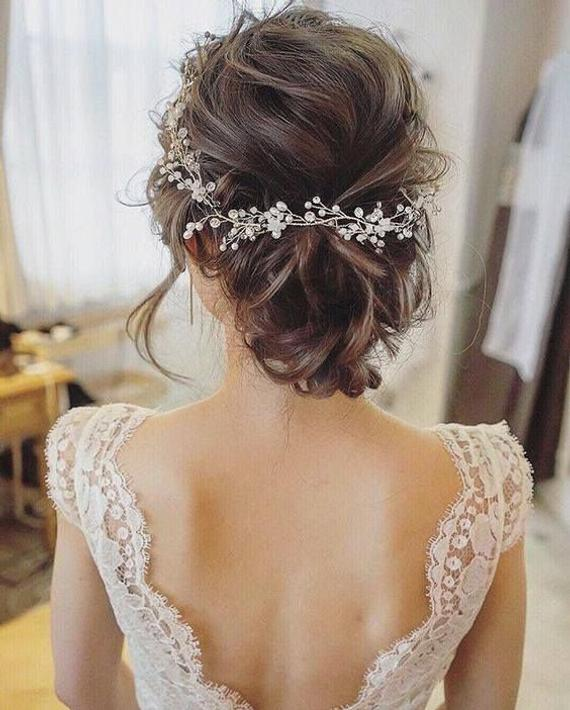 Romantic Bridal Updos To Copy On Your Wedding My Sweet Engagement