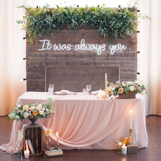 Neon Wedding Signs To Lit Up Your Wedding