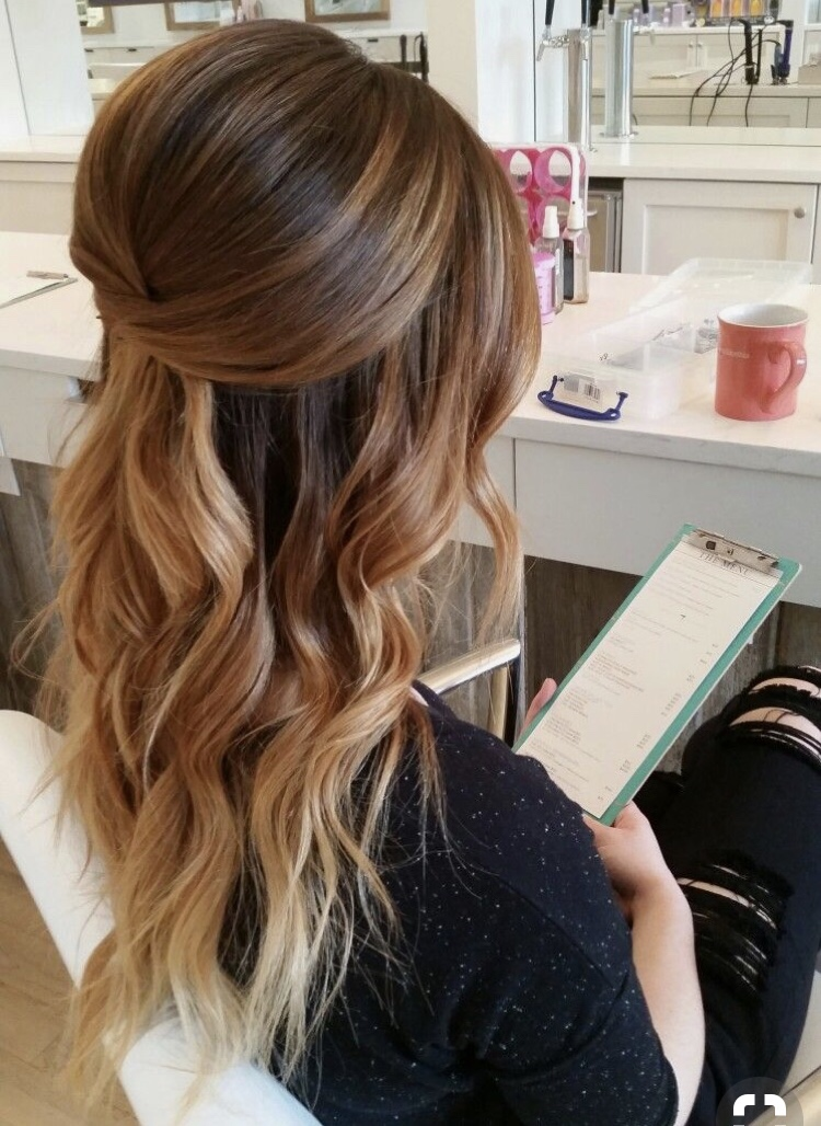 Half Up Half Down Bridal Hair Ideas to Copy Now | Page 3 of 3 | My Sweet Engagement