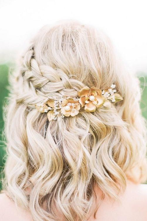 Half Up Half Down Bridal Hair Ideas to Copy Now