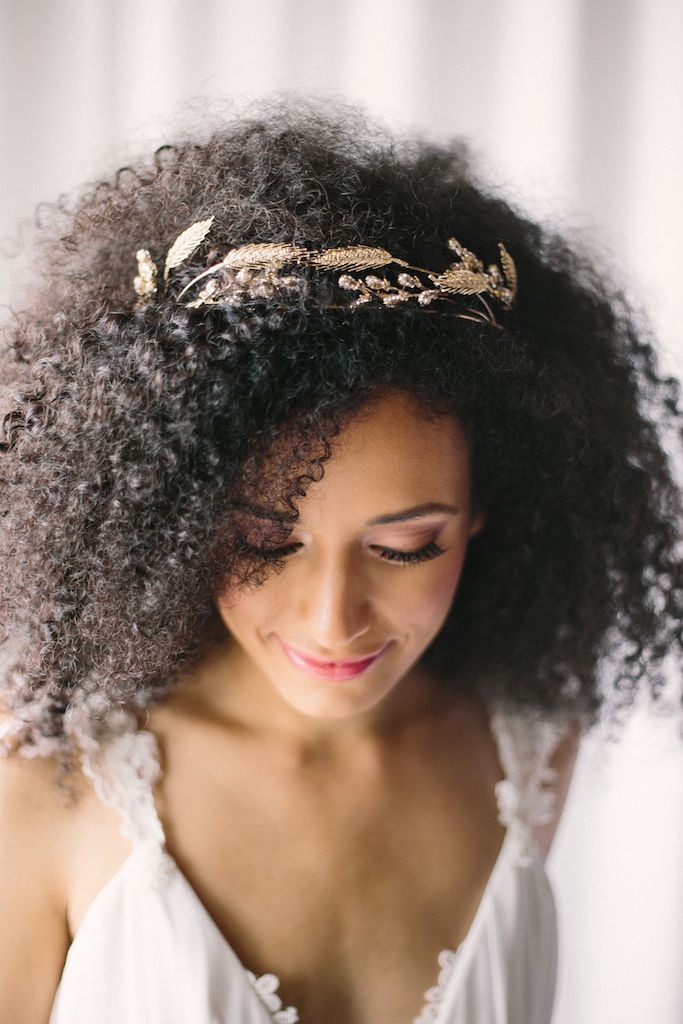 Wedding Hairstyles Natural Curly Hair
