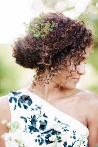 Natural Curly Hair Bridal Hairstyle Ideas To Love My Sweet Engagement