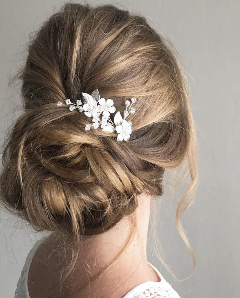 Bridal Hair 50 Ideas For Your Wedding Day My Sweet Engagement